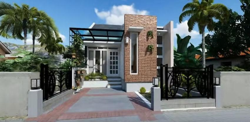 desain rumah 5 x 10